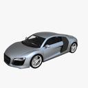 Audi R8 3D models