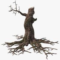 3d max dry tree