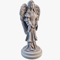 angel statuette statue max