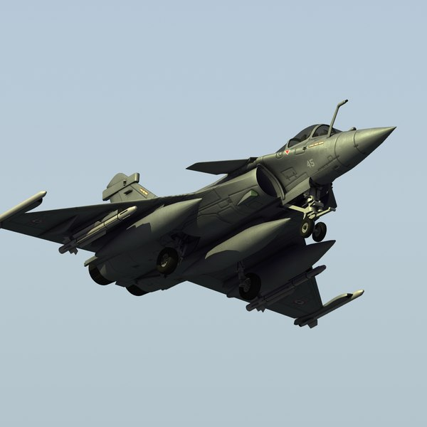 3d french navy rafale m model
