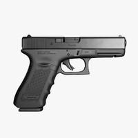 3ds max glock 17 9mm pistol