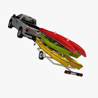 pickup kayak trailer max
