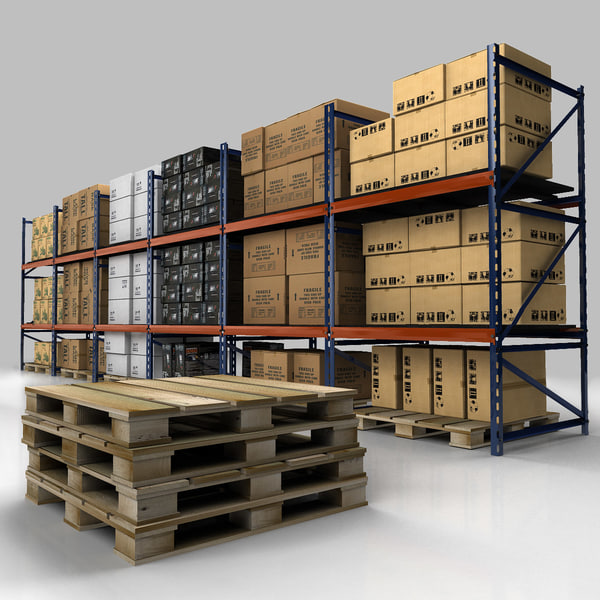Warehouse rack set 3d model for Kitchen set 3d warehouse