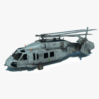 Sikorsky MH60-S Folded Version