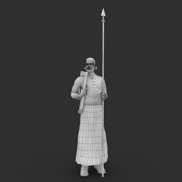 3d prince kiev shchek model - Prince of Kiev Shchek... by Media team
