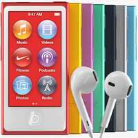 new apple ipod nano 3d max