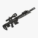 sniper rifle 3D models