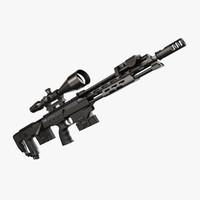 sniper rifle dsr 1 3d max