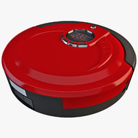3ds max robot vacuum cleaner m