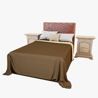 bedroom set 3D models