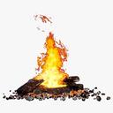 campfire 3D models