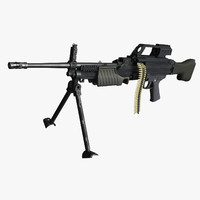 maya heckler koch mg4 machine gun