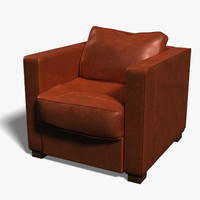 3d single sofa chair