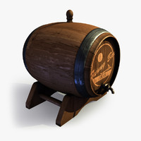 Wooden Barrel 4