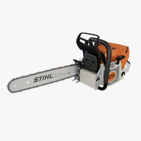 stihl chain saw ms 3d max