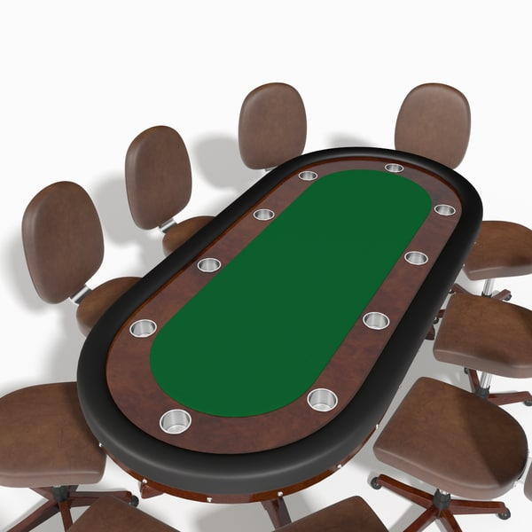 3d tournament poker table model - Tournament Poker Table... by Andgen