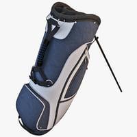 golf bag 3d max