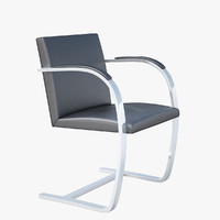 - knoll brno flat 3d obj