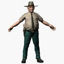 Sheriff 3D models
