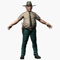 sheriff man 3d 3ds