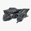 Science Fiction Spacecraft 3D models