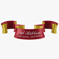 ribbon 3d max