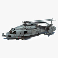 maya sh-60b military helicopter version