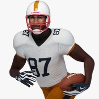 Football Player Black Male