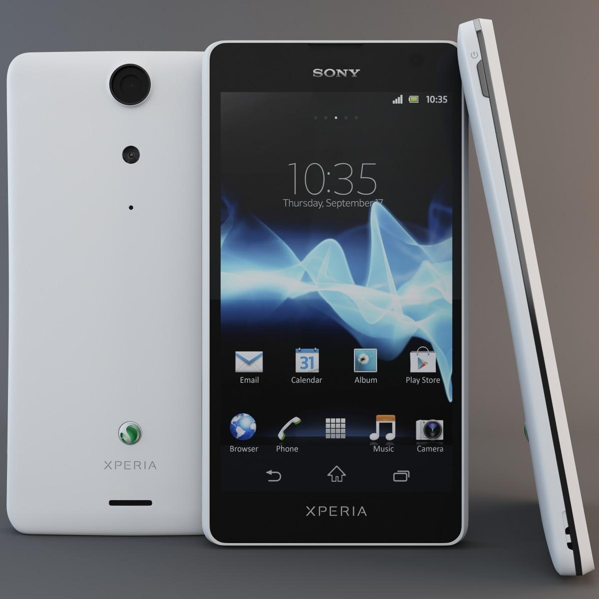 3d white sony xperia gx  3d white sony x...