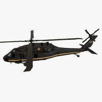 3d uh-60 blackhawk hoeland security odel