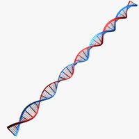 dna digits 3d model