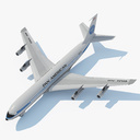 Boeing 717 3D models