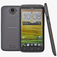 black htc x cell phone 3d max