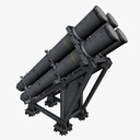 science fiction cannon 3D models