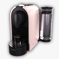 3d nespresso krups u model