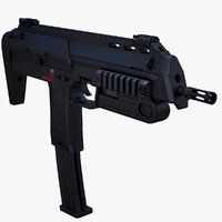 Heckler & Koch MP7A1 (Low Poly)