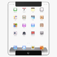 max futuristic tablet concept apple