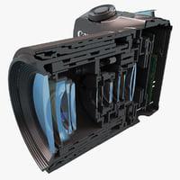 max canon eos m cutaway