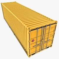 dxf iso 30 feet shipping container