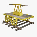 handcar 3D models