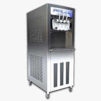 3d frozen yogurt machine