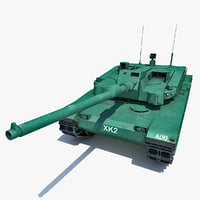Korea Main Battle Tank XK2 Black Panther 2