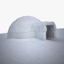 igloo 3D models