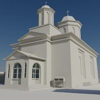 scene church 3d max