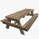 Picnic Table 3D models