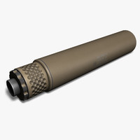 Gemtech TUNDRA-SV Silencer, 9mm, Tan
