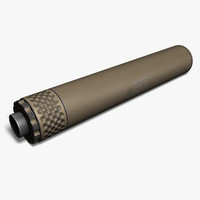 Gemtech TUNDRA Silencer, 9mm, Tan