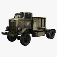 United States WWII Autocar U-8144T Truck