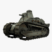 United States WWII M1917 Six Ton Tank