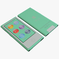 3ds max green ipod nano